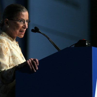 Ruth Bader Ginsburg Receives Award From American Bar Association