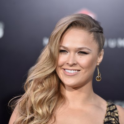 ronda rousey on the red carpet