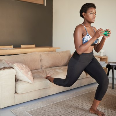Lunging in the lounge
