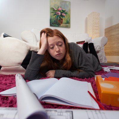 Falling asleep when studying