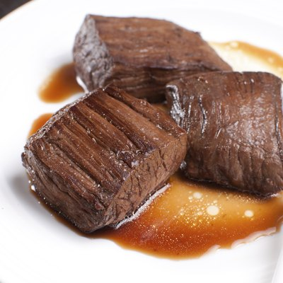 Korean soy sauce beef steak