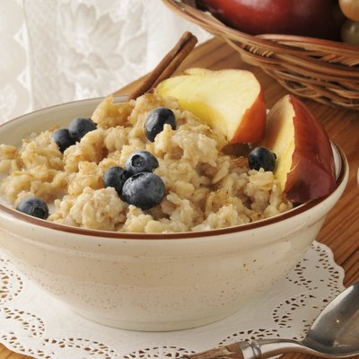 Hot oatmeal cereal