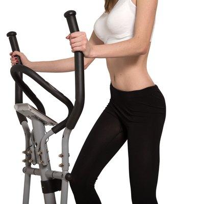 walking on elliptical trainer