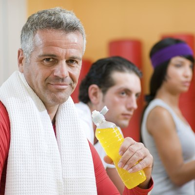 Refreshment during fitness exercises