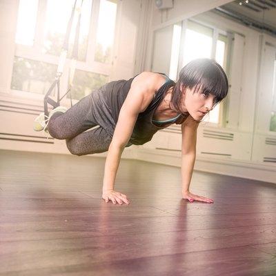 TRX workout