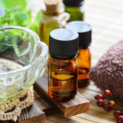 aromatherapy treatment with herbs