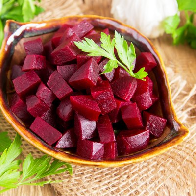 Beetroot (beet) chopped