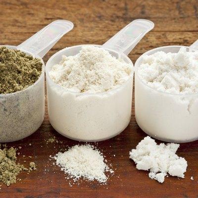 hemp and whey protein powder