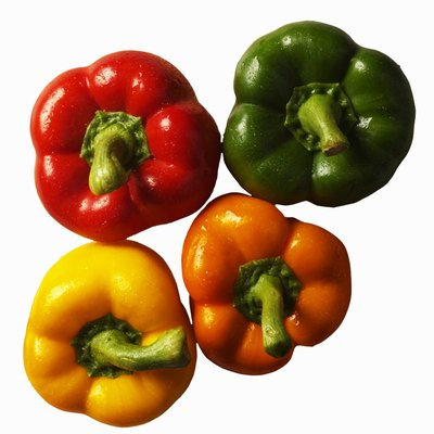 Close-up of bell peppers
