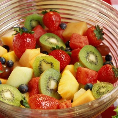 enough calories, fruit, muscle energy