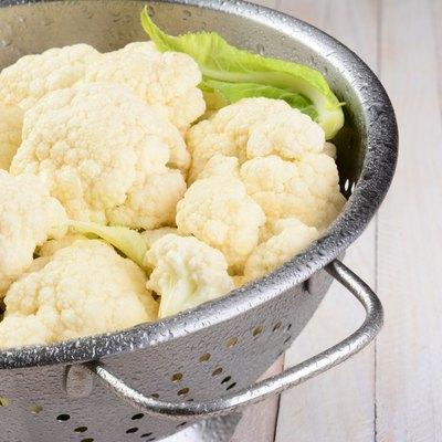 Cauliflower Colander Closeup