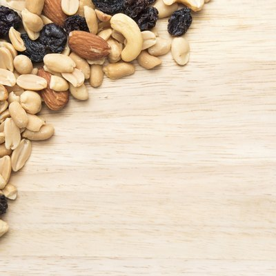 Trail mix seed background