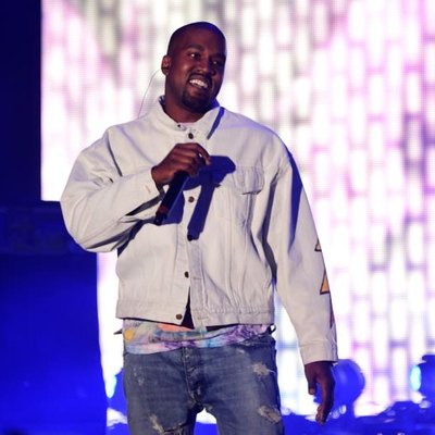 INDIO, CA - APRIL 15: Hip-hop artist Kanye West performs onstage during day 1 of the 2016 Coachella Valley Music & Arts Festival Weekend 1 at the Empire Polo Club on April 15, 2016, in Indio, California. (Photo by Frazer Harrison/Getty Images for Coachella)