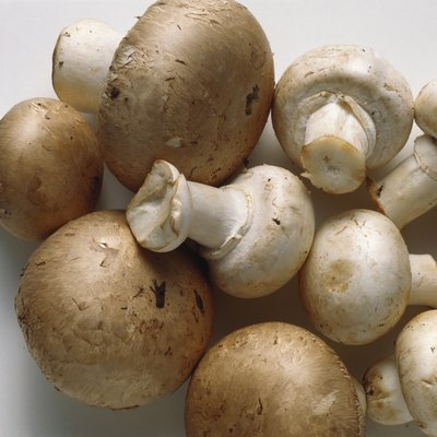 White Mushrooms & Brown Mushrooms