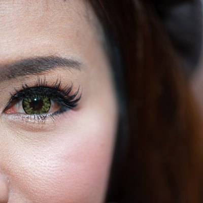 Eyeball woman.