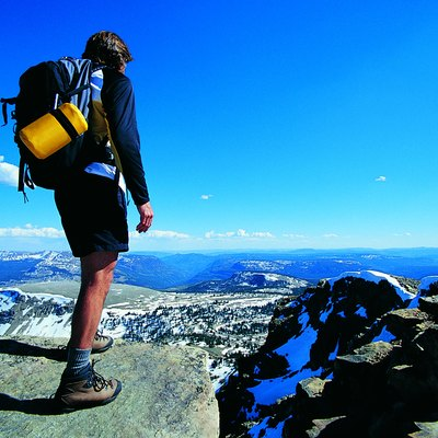 Summit of Bald Mountain, Uinta Mountains, Utah, USA