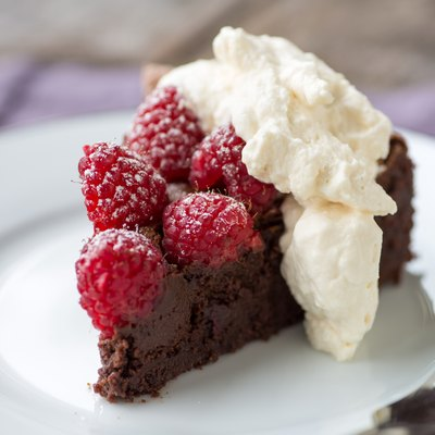 Chocolate Raspberry tart