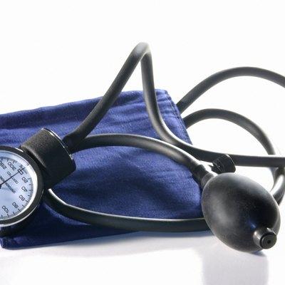 Blood pressure cuff and meter