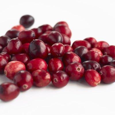 Cranberries, close up