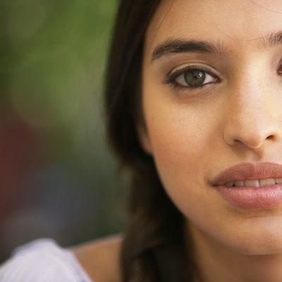 Young woman, portrait, close-up