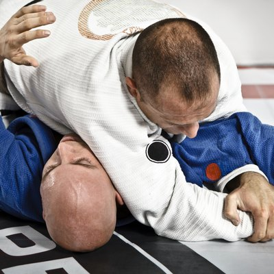 Jiu-Jitsu Submission Hold