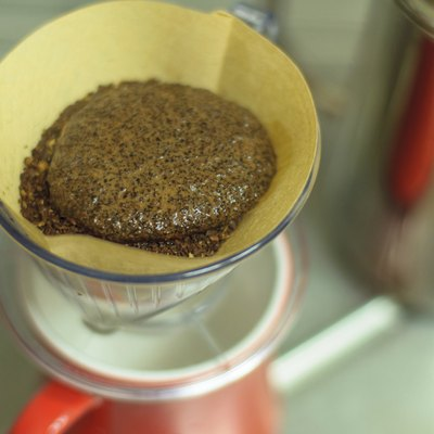 Hand drip coffee