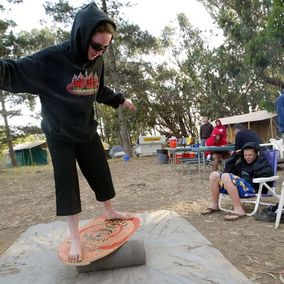 Trainees Hang Ten At California Surfing School