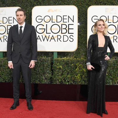 BEVERLY HILLS, CA - JANUARY 08: Actors Dax Shepard and Kristen Bell attend the 74th Annual Golden Globe Awards at the Beverly Hilton Hotel on January 8, 2017, in Beverly Hills, California. (Photo by Frazer Harrison/Getty Images)
