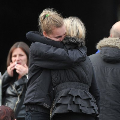 Funeral Of A Young Family Killed In A Fire At An Irish Traveller Site
