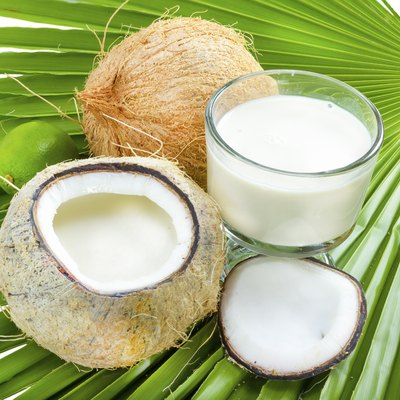 Coconut milk.