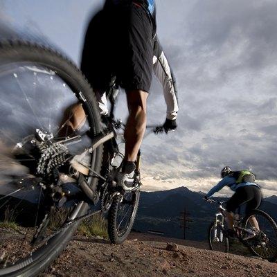 Mountainbike / Mountainbiking by night