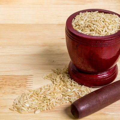 Brown Rice, Uncooked/ Brown Rice