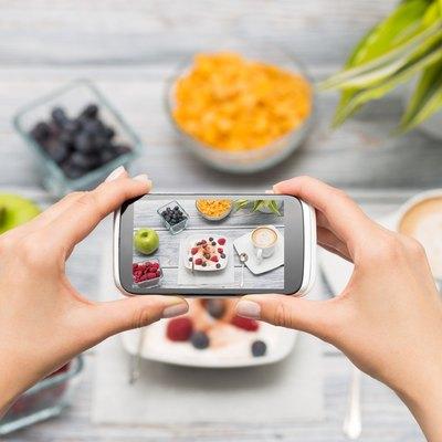 Smartphone shot food photo.