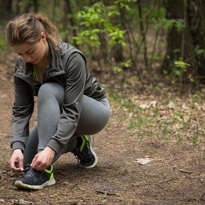 Preparing for jogging