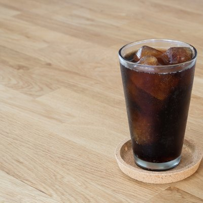 glass of cola