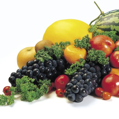 Variety of produce
