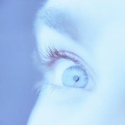 close-up of a person's eye (tungsten)