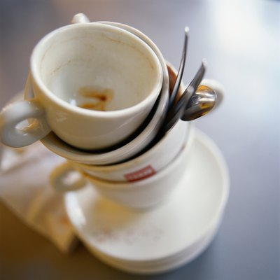 Dirty Coffee Cups
