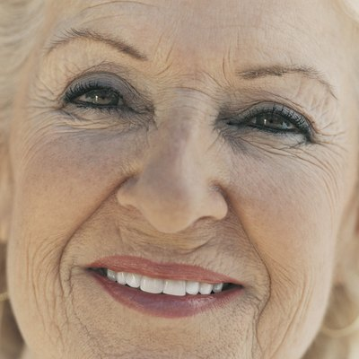 Close Up Portrait of a Senior Woman