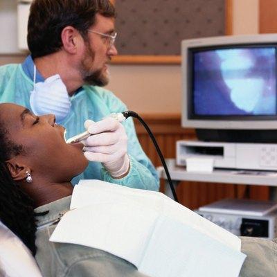 Dentist using Camera