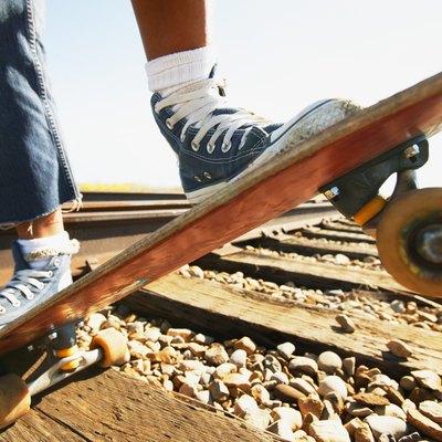 A skateboard
