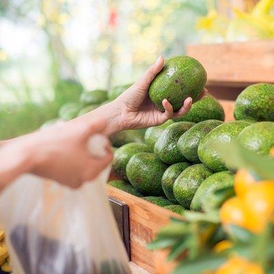 Choosing avocados