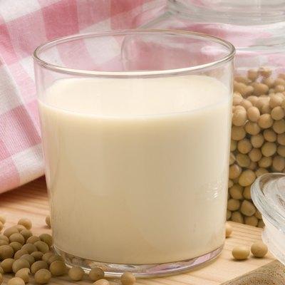 Soy milk.