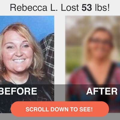 Read on to see Rebecca's impressive transformation.