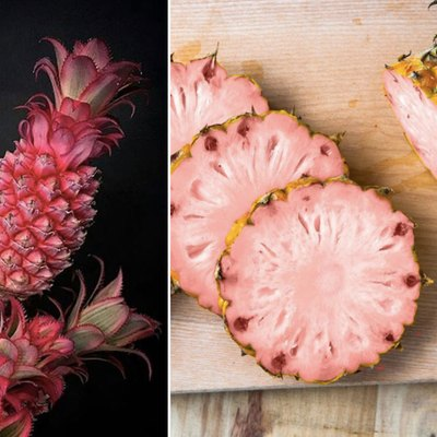 Pink pineapple from Dole and DelMonte