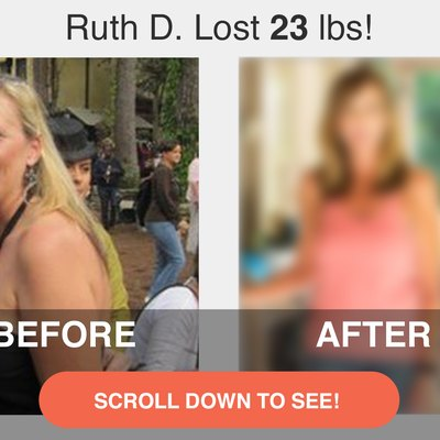 Scroll down to see Ruth's transformation!