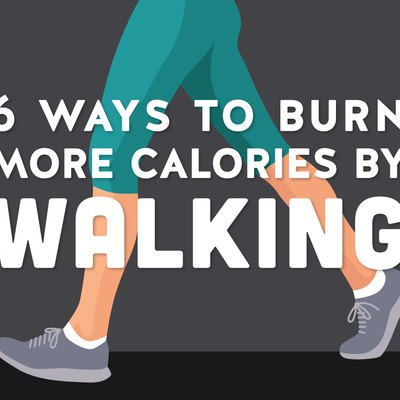 Burning more calories every day can be as easy as walking.