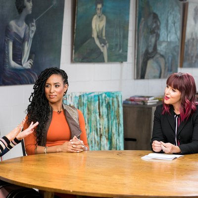 Britney Vest, Lita Lewis and Jess Barron and LIVESTRONG's roundtable discussion.