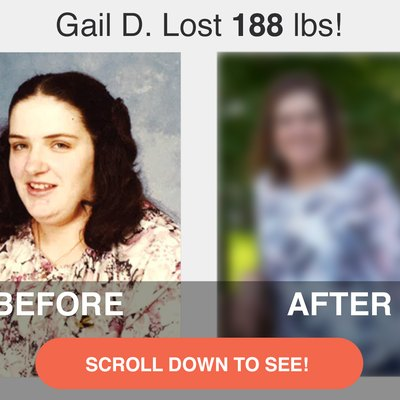 Scroll down to see Gail's amazing transformation