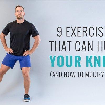 Knee injury, Man runner with knee pain